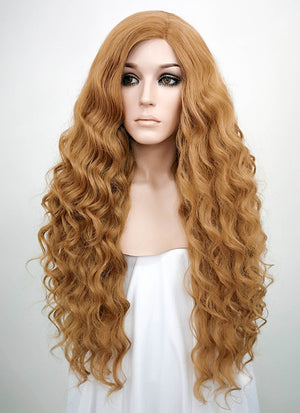 Golden Blonde Mono Parted Glueless Lace Wig MP004 - Wig Is Fashion
