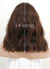 Brown Wavy Bob Synthetic Wig NS041 - Wig Is Fashion
