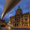 Hull City of Culture Blade Installation and City Hall.