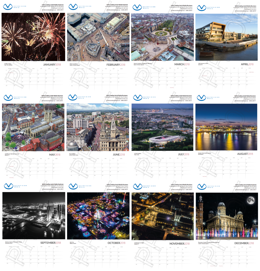 hull from above 2018 calendar a3 octovision media s hull from