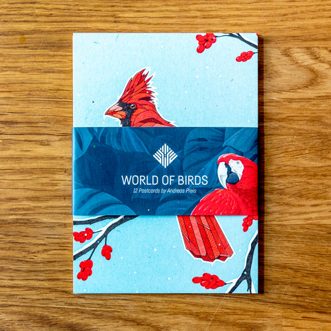 Postcards - World of Birds