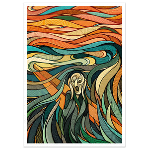 The Scream - Reimagined // A3