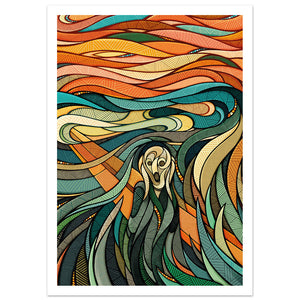 The Scream - Reimagined // A4