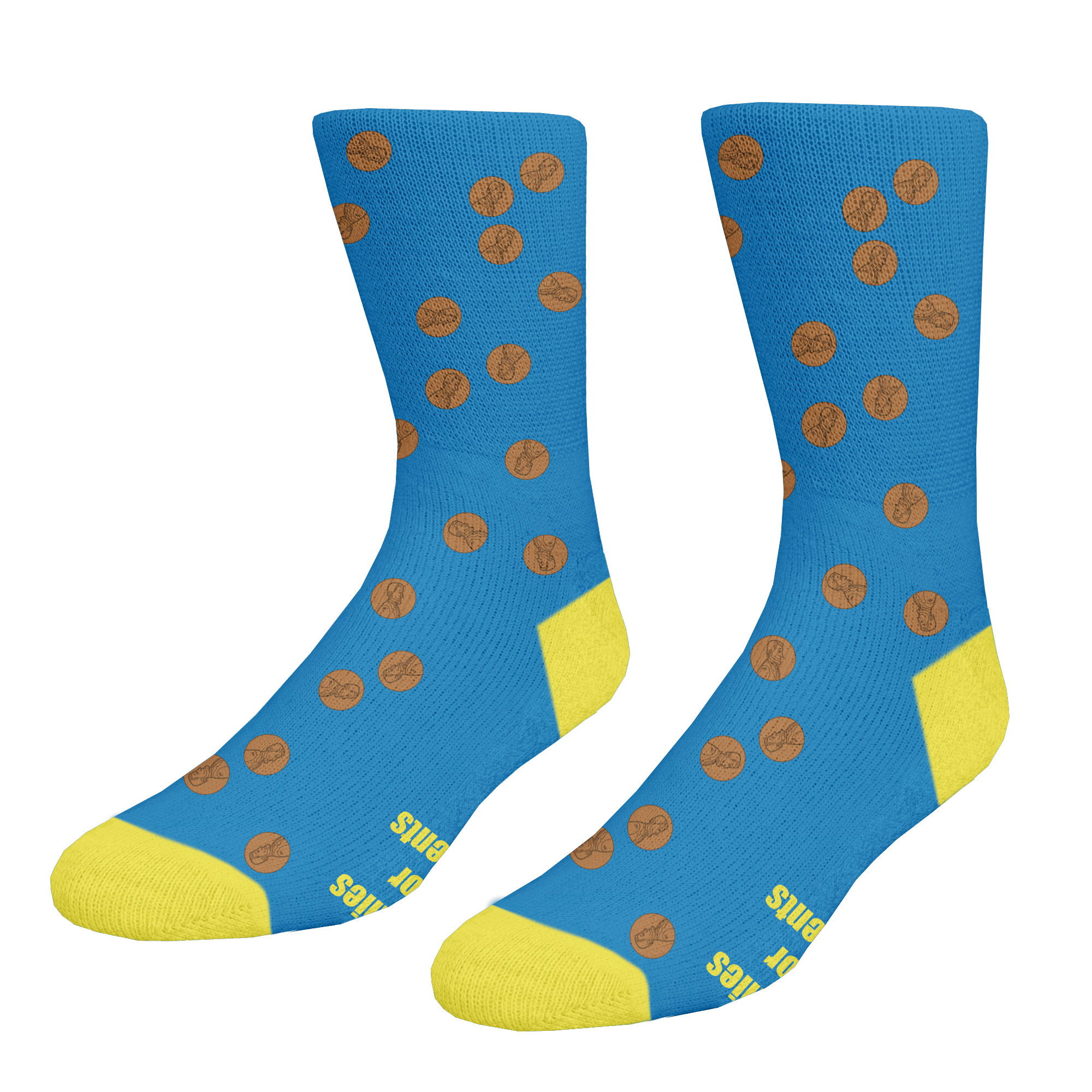 Pennies for Patients Socks