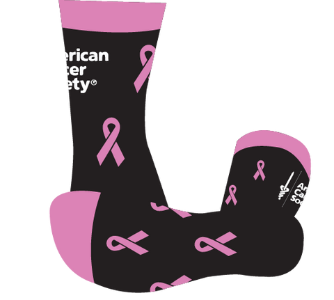 Darren's ACS Breast Cancer Awareness Socks