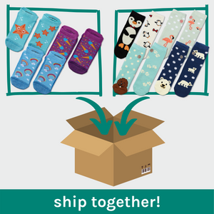 Bundle Shipping - Lightweight & Double Layer Non-Slip Socks