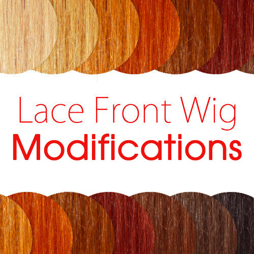 Lace Front Wig Modification Options - Wig Is Fashion