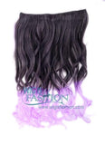 F-Black Mixed Light Purple