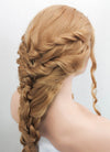 Golden Blonde Braided Lace Front Synthetic Wig LF2046 - Wig Is Fashion