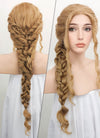 Golden Blonde Braided Lace Front Synthetic Wig LF2046