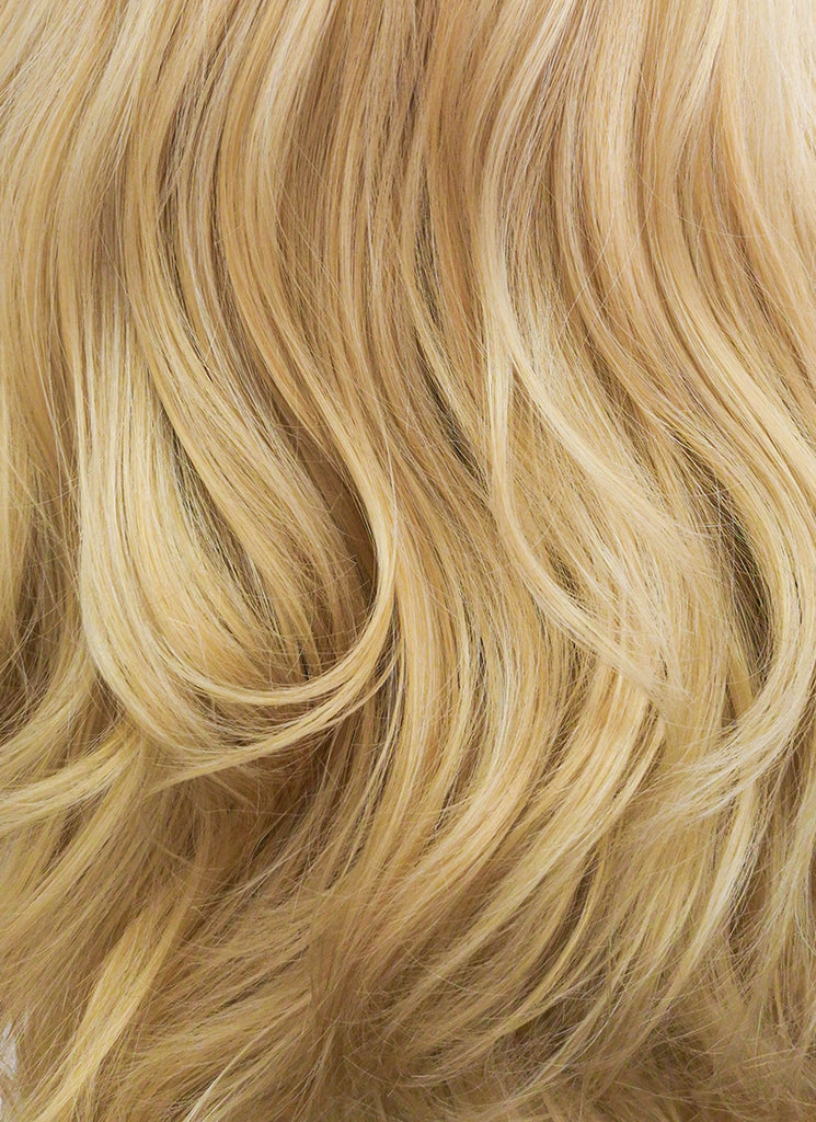 "26"" Wavy Blonde Lace Front Synthetic Wig LF323 - Wig Is Fashion"