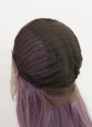 "Purple Straight 13"" x 6"" Lace Top Synthetic Wig LF5062"