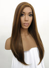 Brunette Straight Lace Front Synthetic Wig LFB006 - Wig Is Fashion