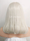 Pastel Blonde Straight Bob Lace Front Synthetic Wig LNK001 - Wig Is Fashion