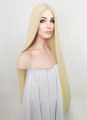 Light Blonde Straight Synthetic Wig NL022