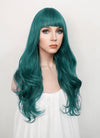 Turquoise Green Wavy Synthetic Wig NS159