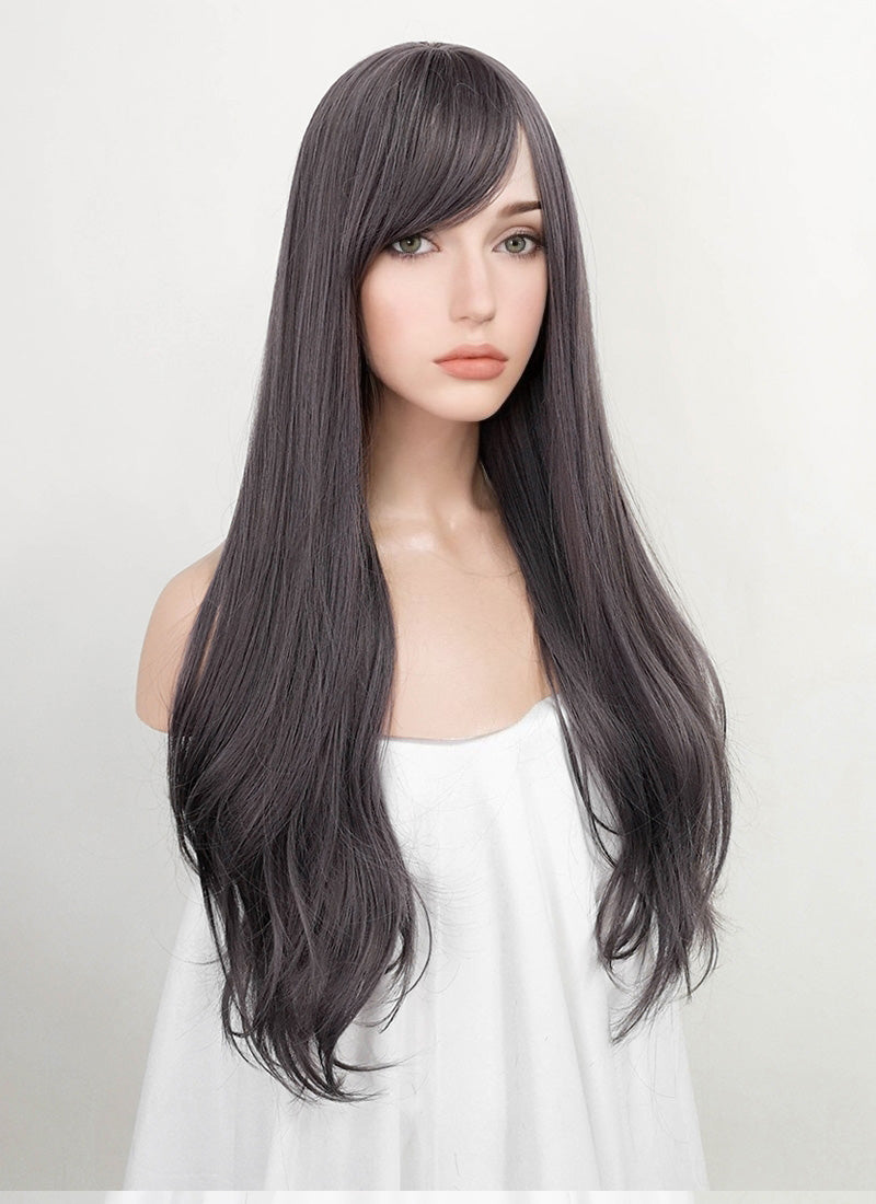 Grey Wavy Synthetic Wig NS164