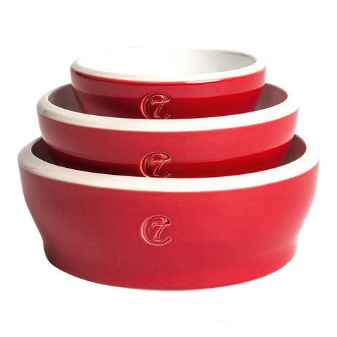 Cloud7 Jamie Dog Bowl in Red