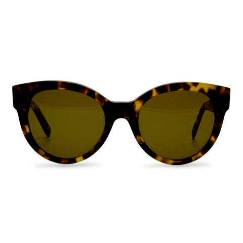 Dick Moby ORY Sunglasses in Yellow Havana