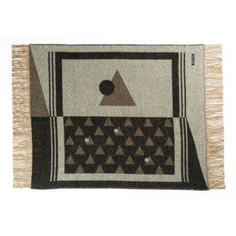 NEBULA ORDER Green Andes Baby Throw