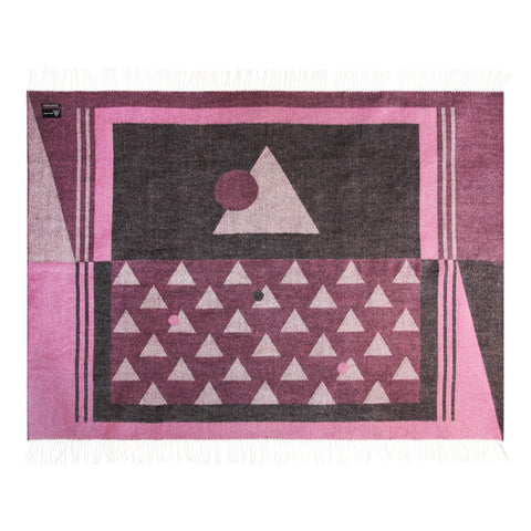 Pink Andes Throw