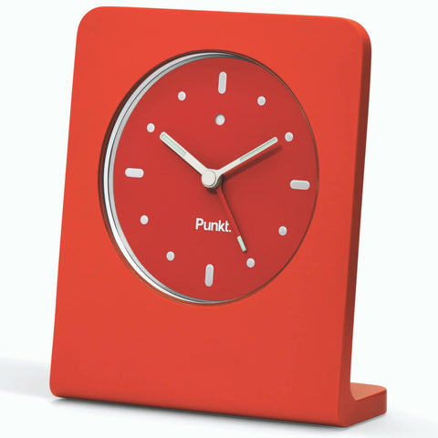 Punkt AC01 Alarm Clock in Red