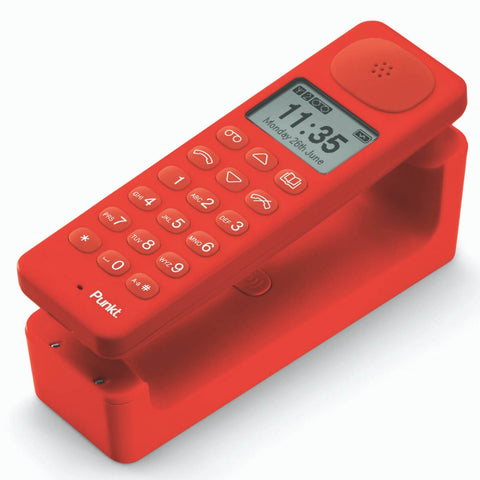 Punkt DP01 Cordless Phone Red