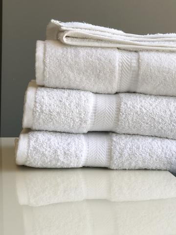 Dobby Border Hand Towels 16x30
