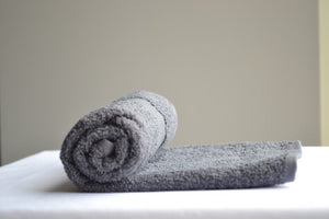Charcoal Grey Bleach Proof Hand Salon Towels 16x27