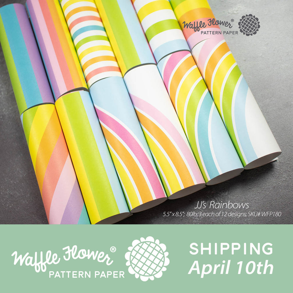 Waffle Flower Everyday Pattern Paper Release - JJ's Rainbows