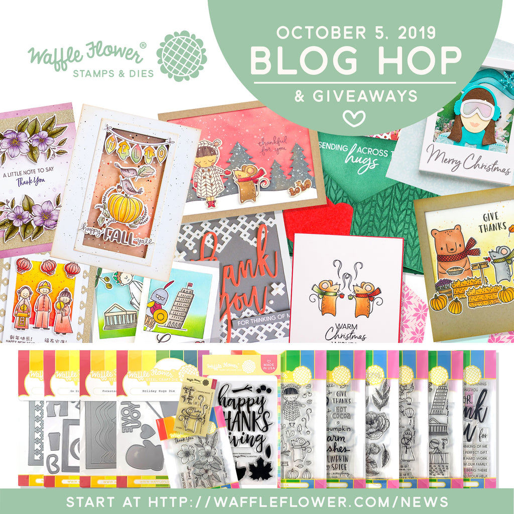 October Blog Hop Release Winners