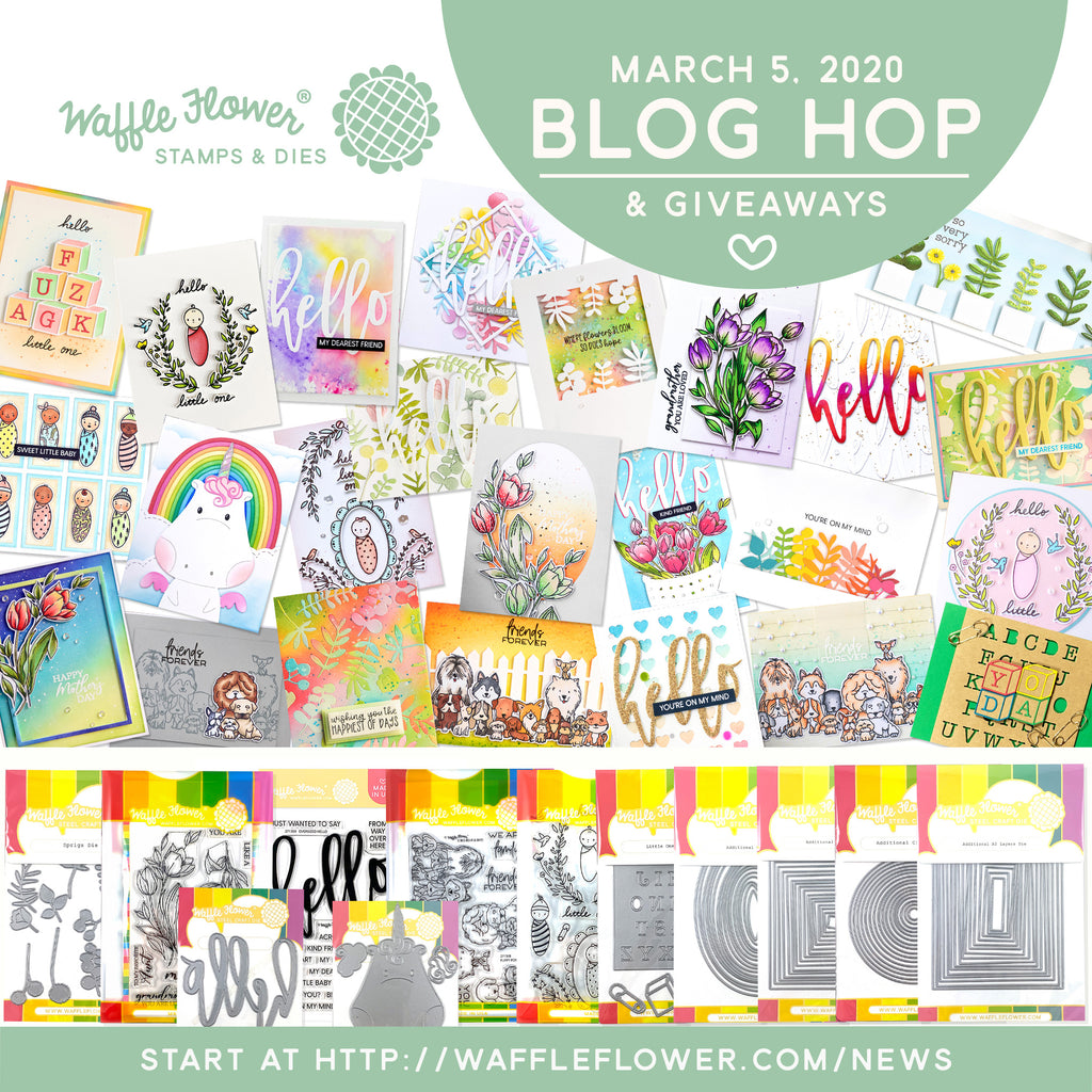 March 2020 Blog Hop Release Winners