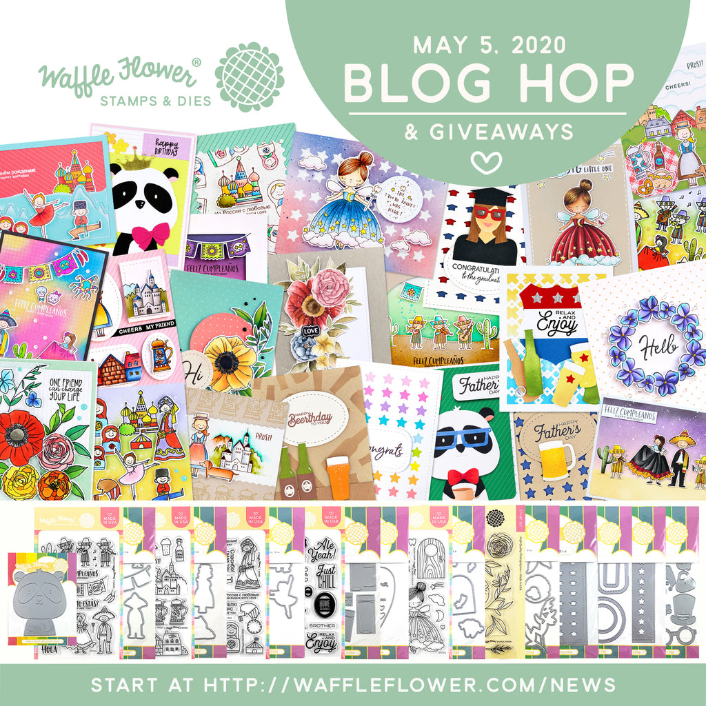 Waffle Flower May 2020 Release - Blog Hop & Giveaways