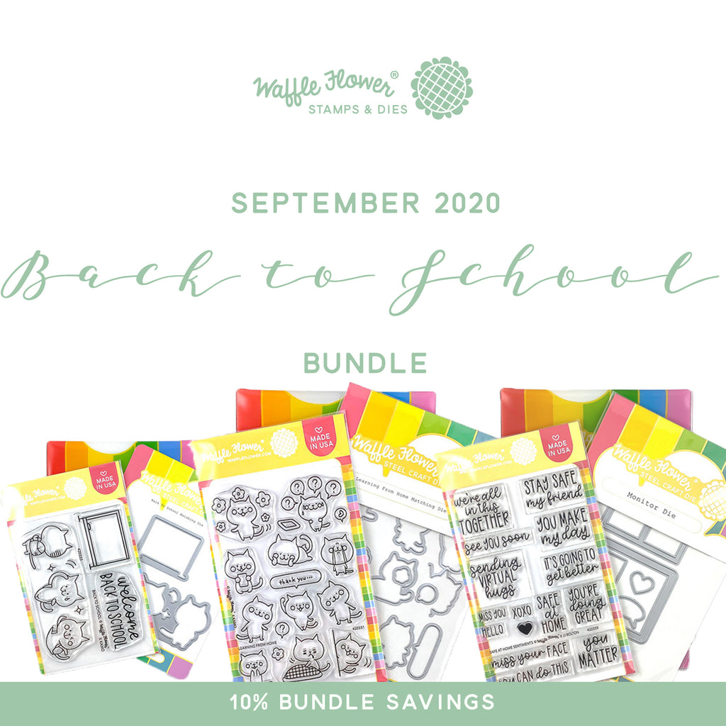 Intro to Back to School Bundle in Waffle Flower September Release