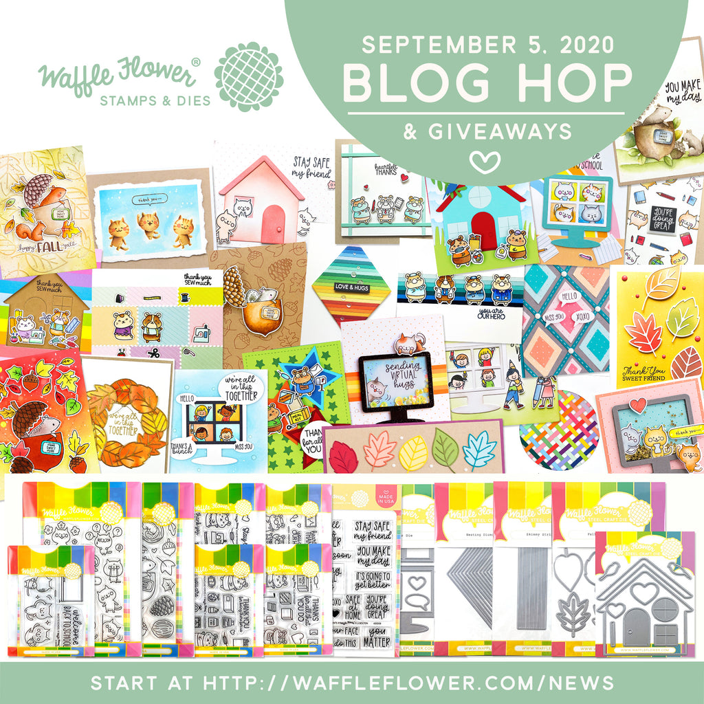 Waffle Flower September 2020 Release Blog Hop & Giveaways