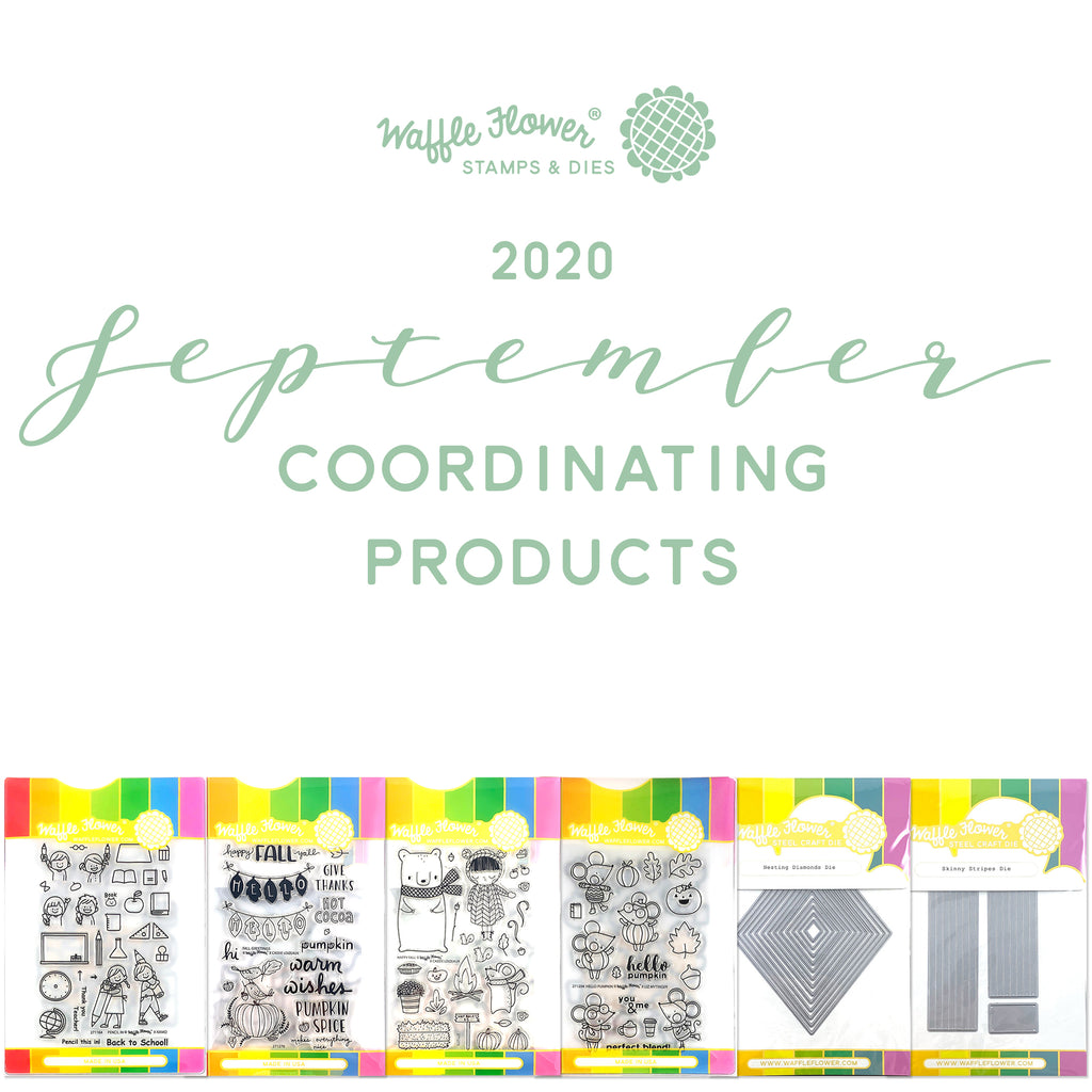 Intro to Coordinating Products in Waffle Flower September Release