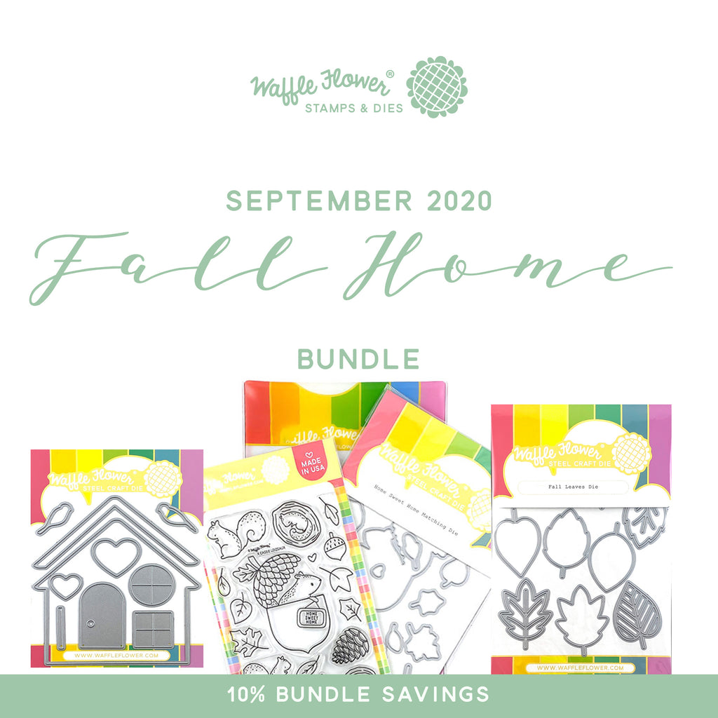 Intro to Fall Home Bundle in Waffle Flower September Release