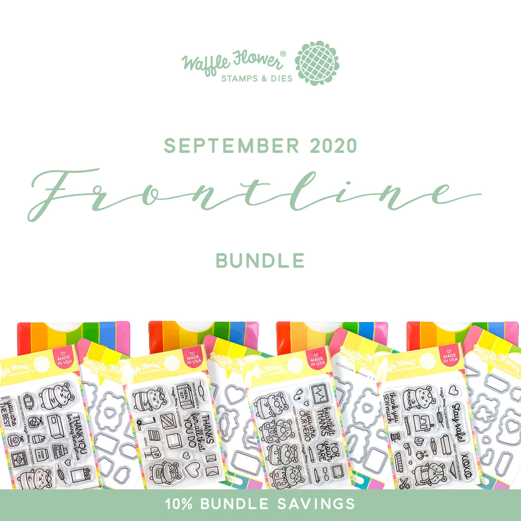 Intro to Frontline Bundle in Waffle Flower September Release