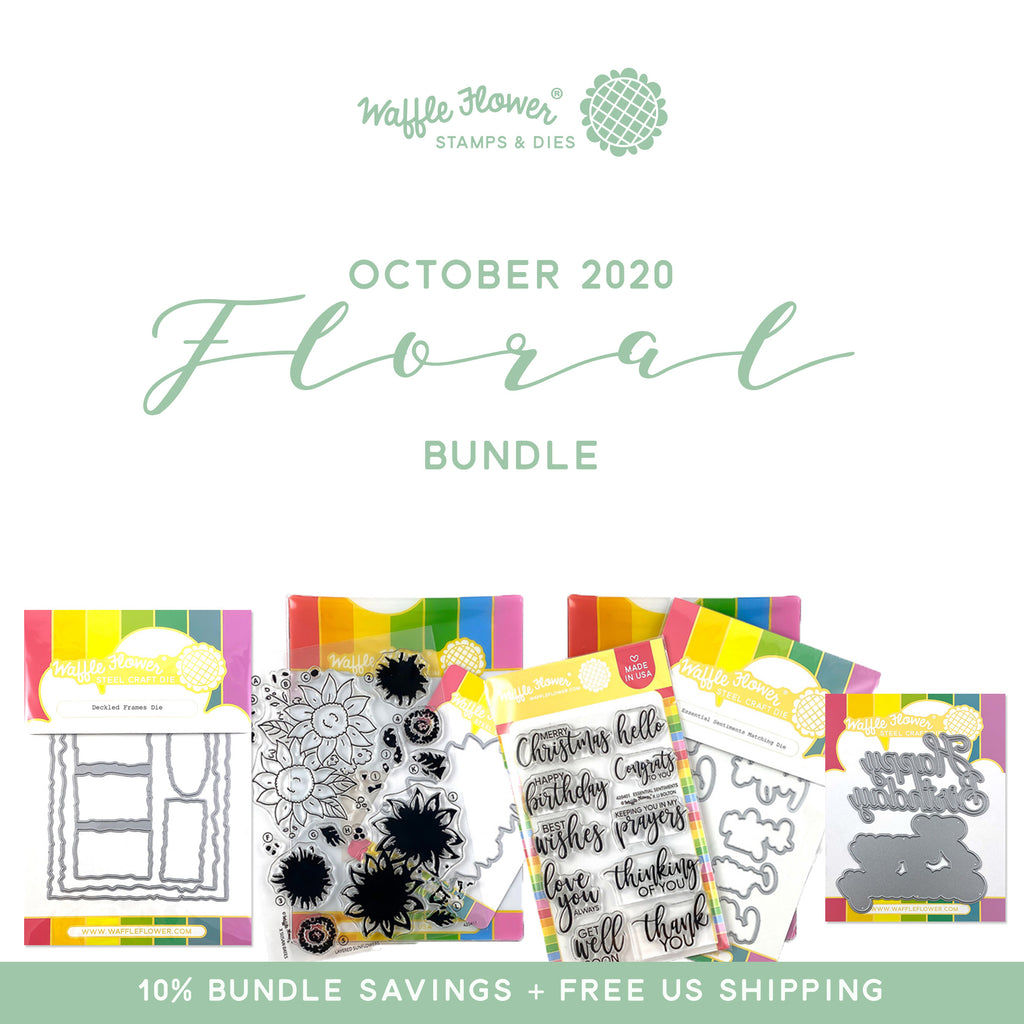 October Release Intro Day 1 - Layered Sunflowers, Essential Sentiments and More!