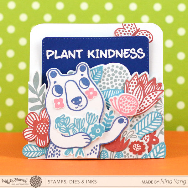 Sneak Peek to Layered Kindness Card for The CLASSroom by Nina Yang