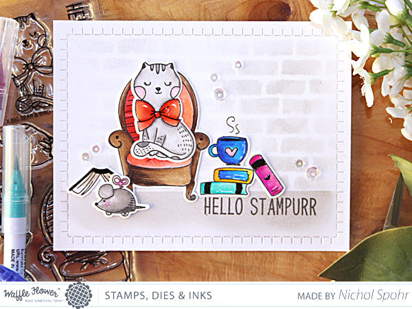 [In the Details] Hello Stampurr Card by Nichol Spohr