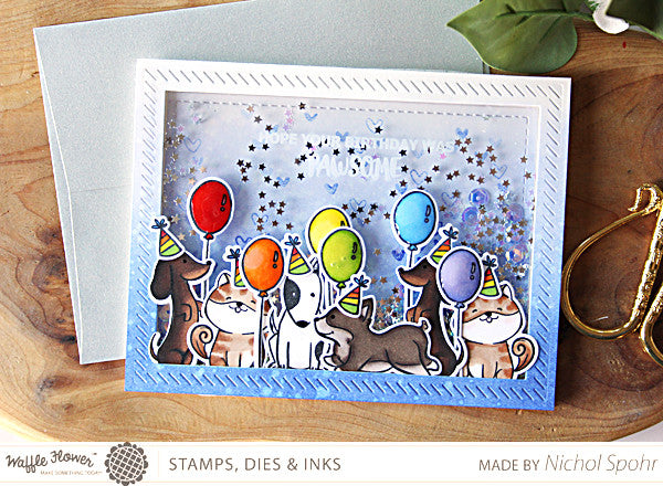[In the Details] Pawsome Birthday Shaker by Nichol Spohr