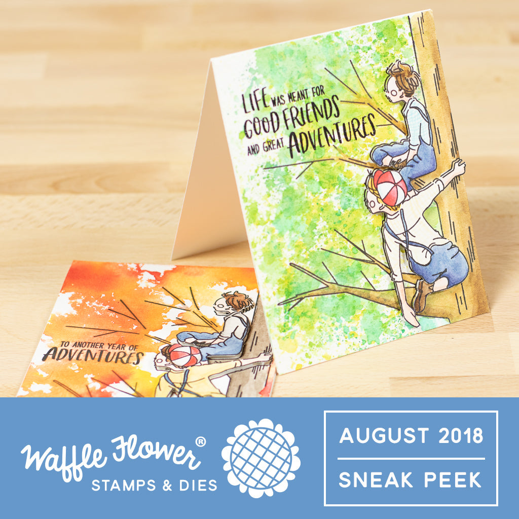 Sneak Peeks to August 2018 Release!