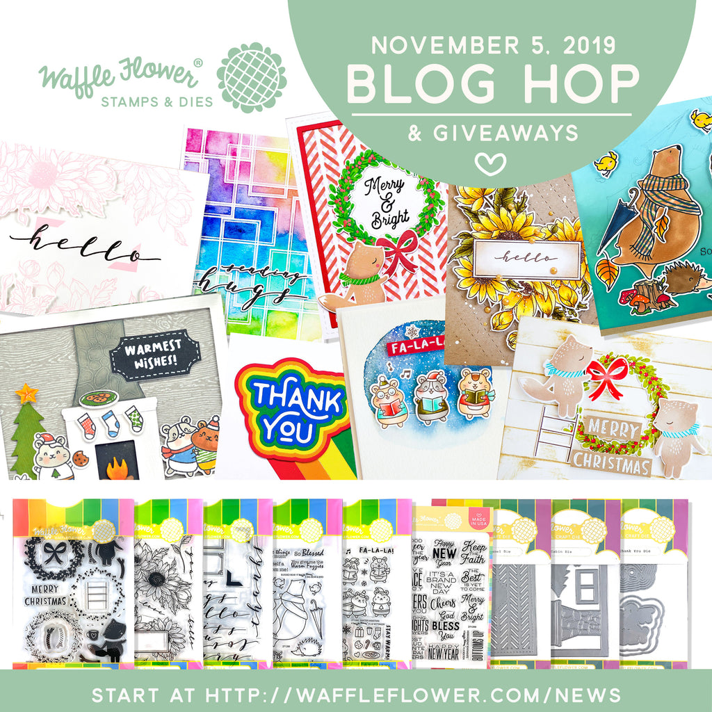 November Blog Hop Release Winners