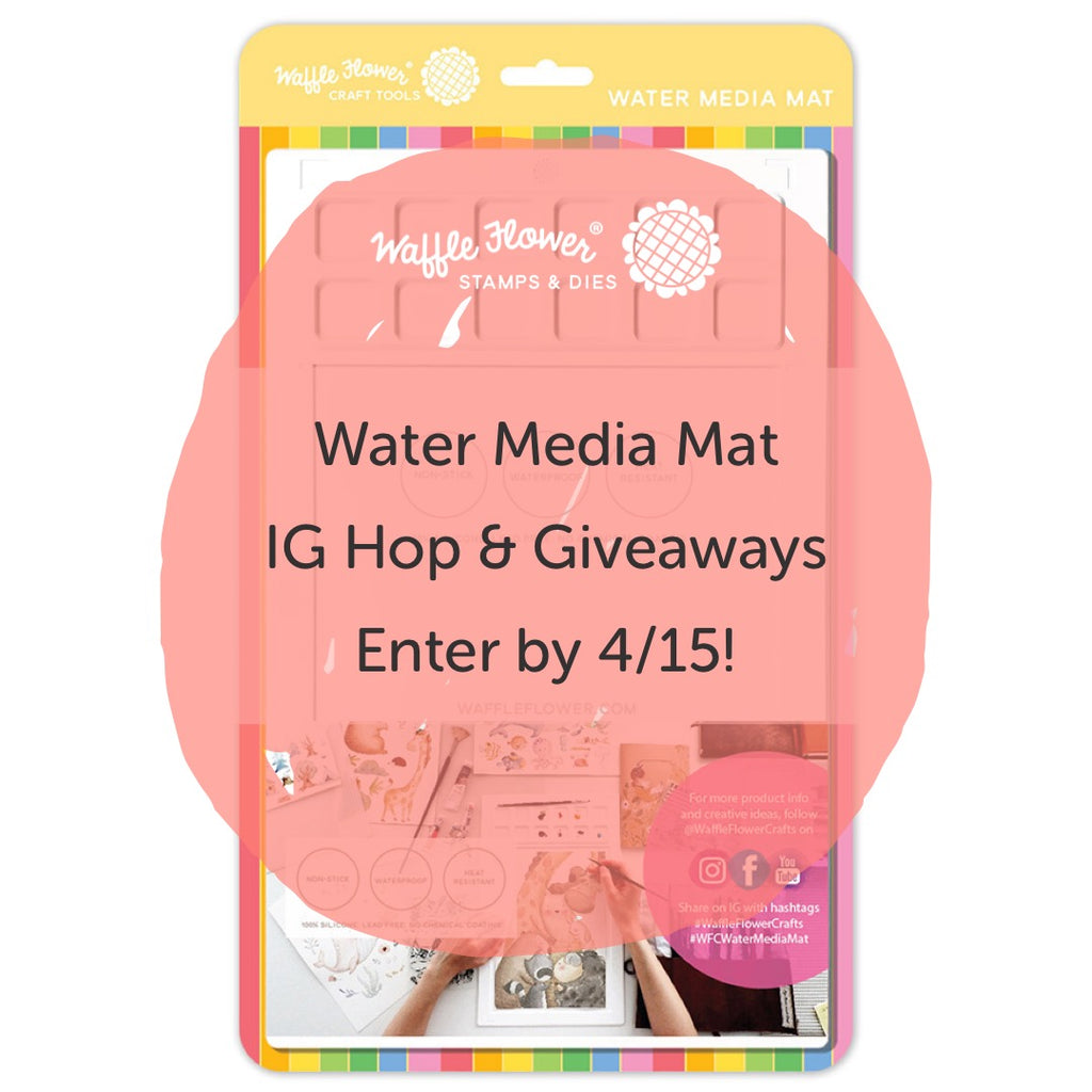 Water Media Mat Launch Winners!