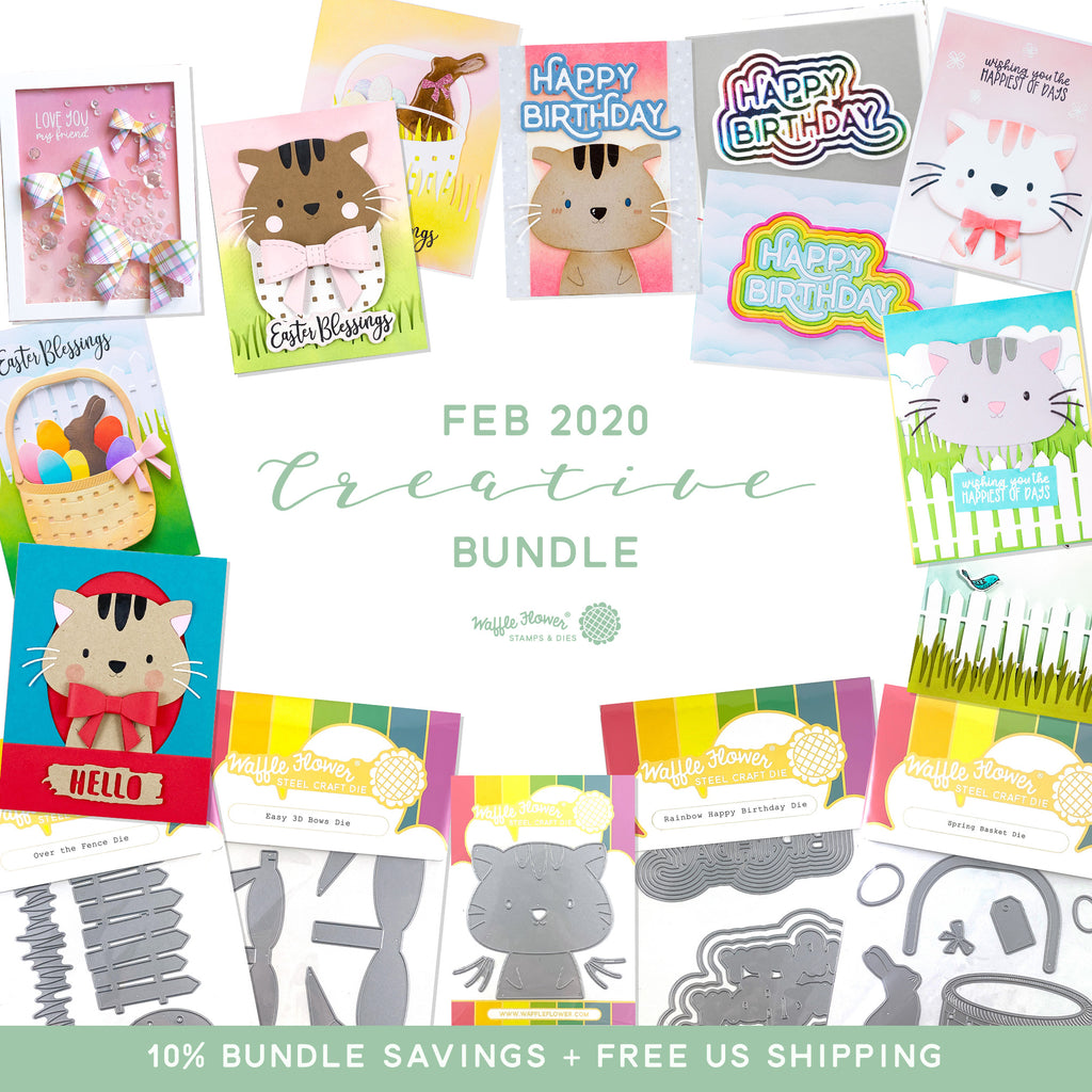 Sneak Peek of February Creative Bundle - Available February 5th!
