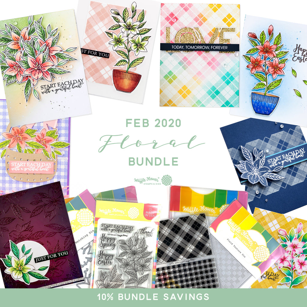 First Look at February Floral Bundle - Available February 5th!
