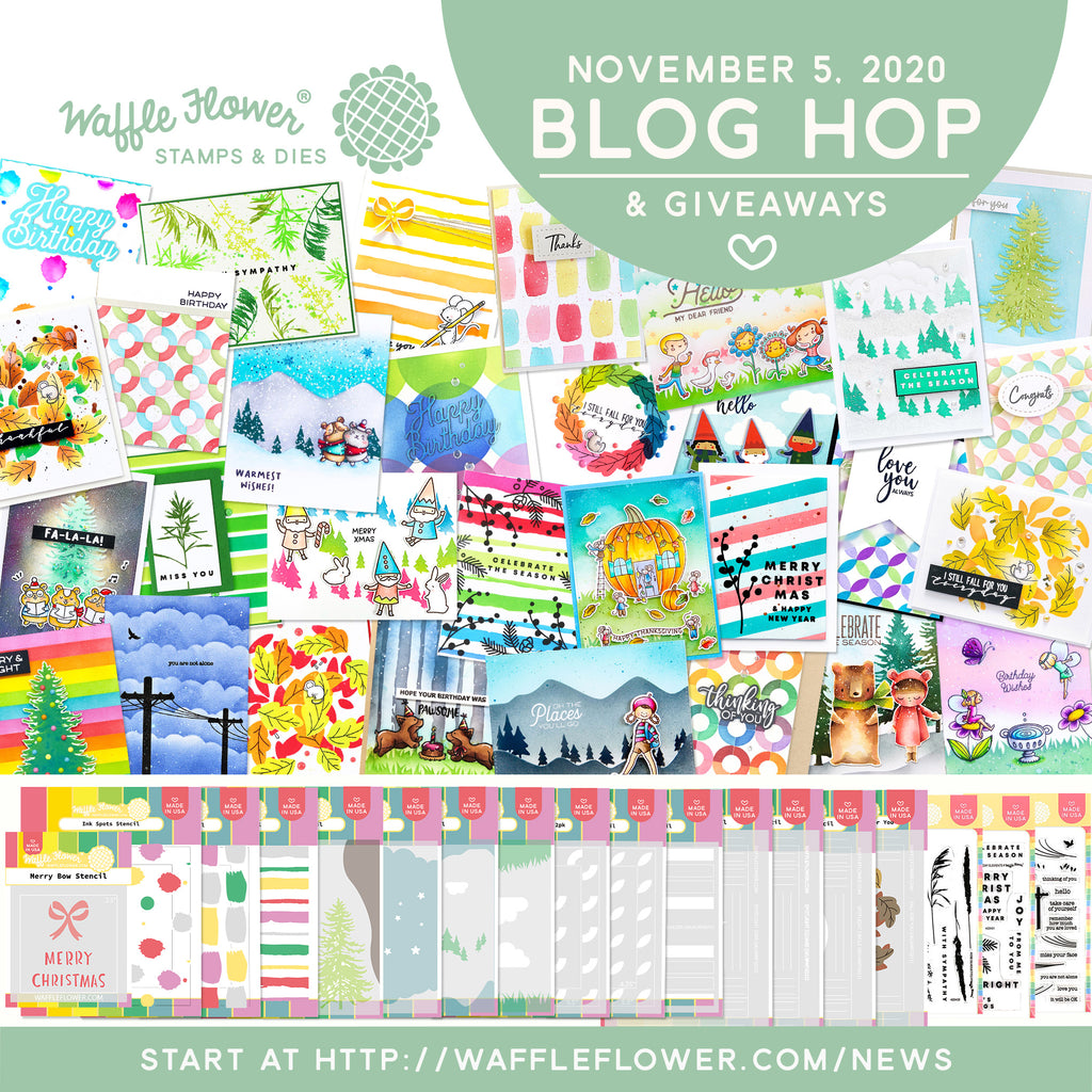 Stencils & Silhouettes Release Blog Hop & Giveaways