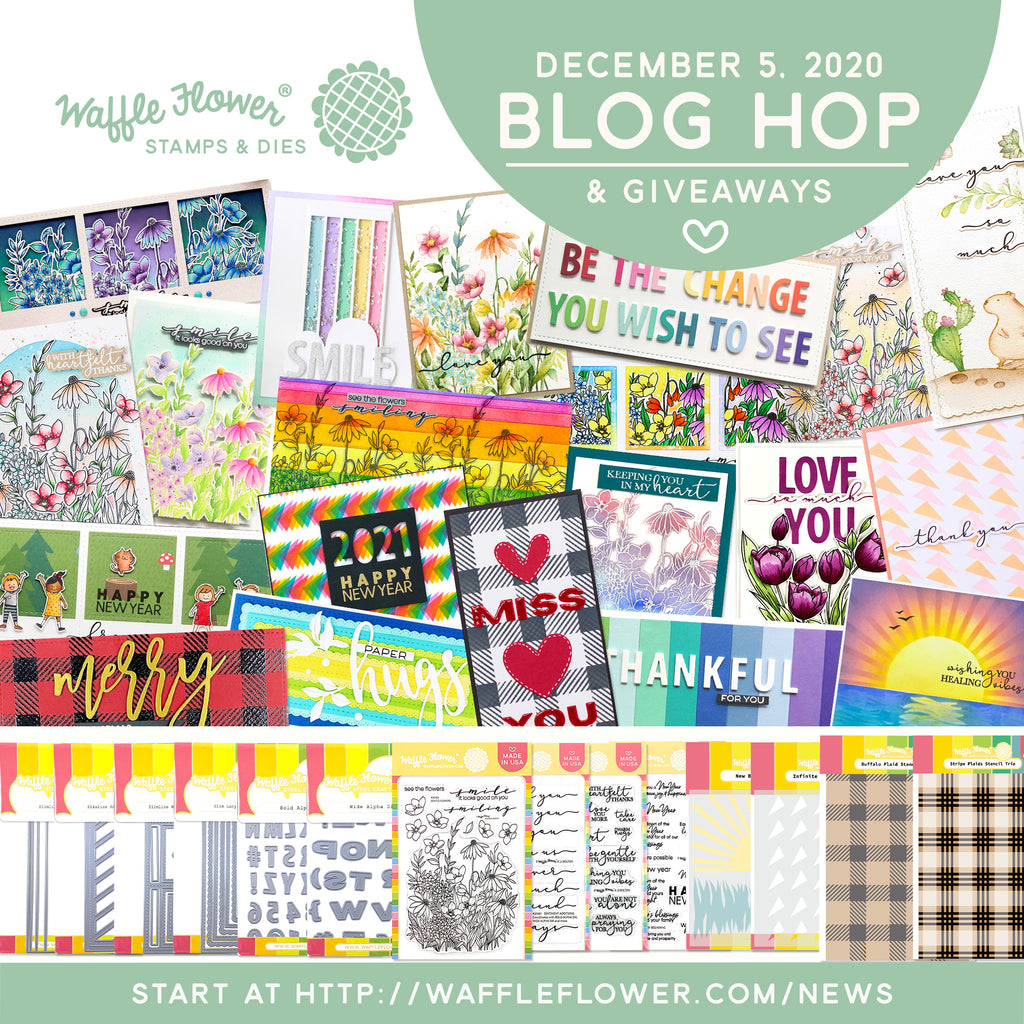 Slimlines & Alphabets Release Blog Hop & Giveaways