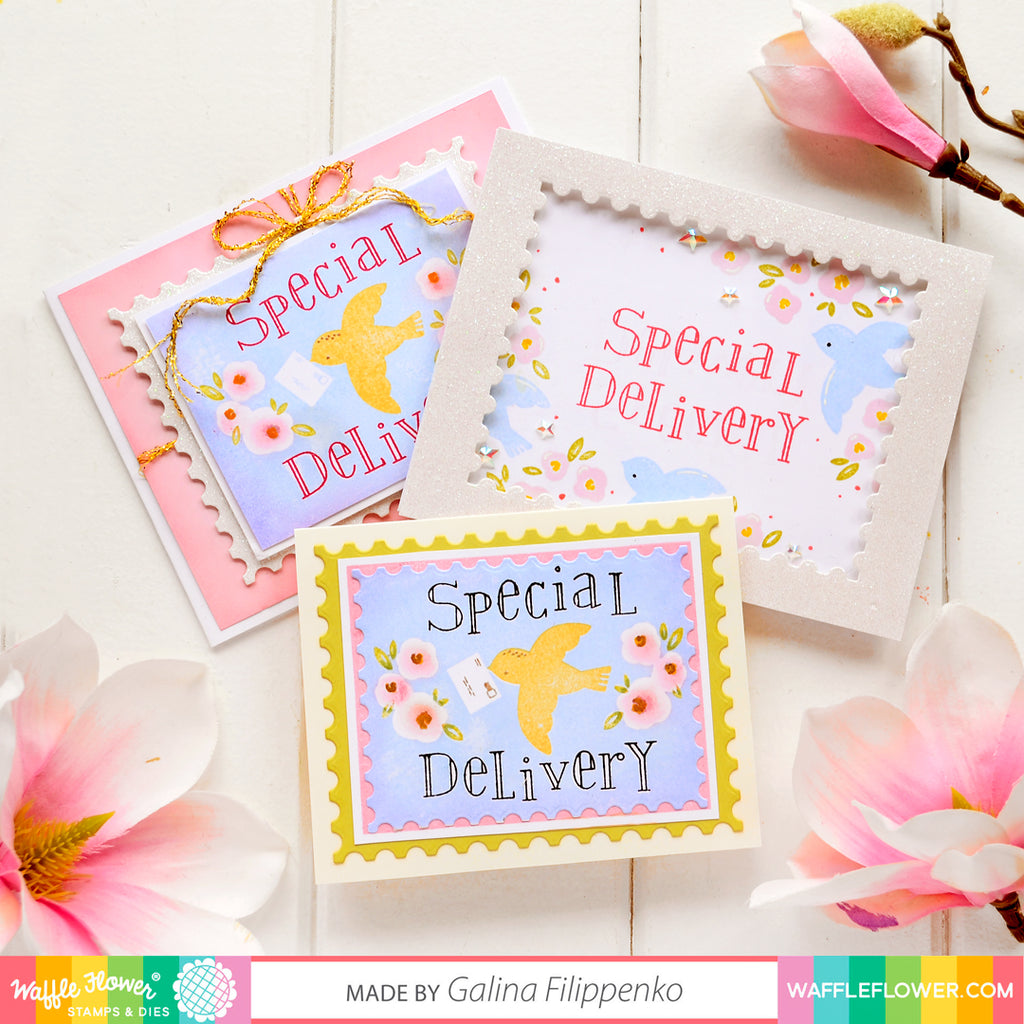 Whimsical Week! Special Delivery Inspiration with Galina!